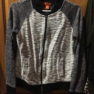 Cozy zip up sweater